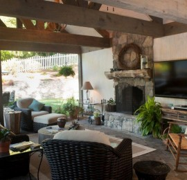 Clements Residence – Outdoor Living Area