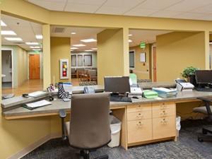 Floyd Medical Pre Op Check In Desk
