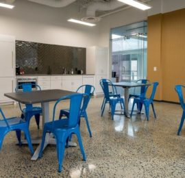 Carlsen Precision Manufacturing – Break Room