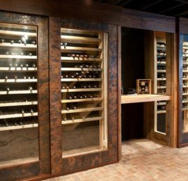 Morgan Residence – Wine Cellar